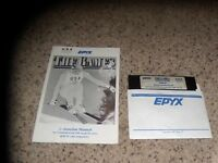 The Games Winter Edition Disk #1 only (no disk # 2) with manual Commodore 64