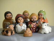 """Nativity set Peruvian  2"""" Holy Family, Nativity scene"""