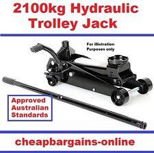 TROLLEY JACK GARAGE WORKSHOP QUICK LIFT HYDRAULIC FLOOR JACK MECHANICS HAND TOOL