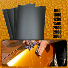 50 Wet and Dry Sandpaper Sheets, 3000 Grit Sand Paper