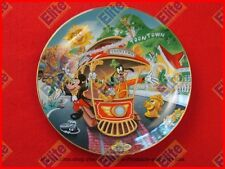 "Disneylands 40th Anniversary ""Mickey's Toontown"" Bradford Collector Plate - Nib"