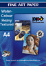 PPD Inkjet Watercolour Paper 240g Pack Of 25 Sheets In A4 or A3 Size