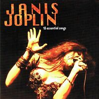 (CD) Janis Joplin - 18 Essential Songs - Me And Bobby McGee, Mercedes Benz, u.a.