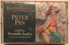 LadyBird Classics Peter Pan read by Prunella Scales Cassette Audio Book