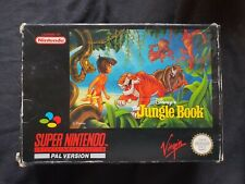 DISNEY'S THE JUNGLE BOOK Super Nintendo SNES Game