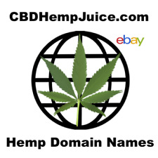 CBD Hemp Juice Domain Name for Sale CBDHempJuice.com - CBD E-Liquid Shop Domain