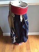 Cool VINTAGE Ben Hogan, Red White and Blue Golf Bag