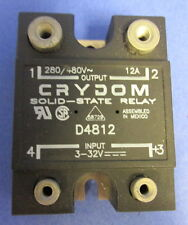 CRYDOM 280/480V 12A 3-32V SOLID-STATE RELAY D4812