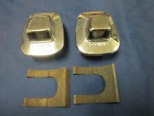 2 General Motors 3GM IZ Exterior License Plate Light Bezels