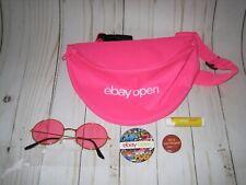 2019 ebay open lot neon pink fanny pack sunglasses 2 buttons chapstick las vegas