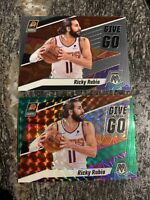 2019-20 Panini Mosaic #12 Ricky Rubio Give And Go Insert Lot (2) Green Prizm
