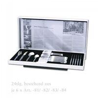2733-02 Pott 33, Edelstahl, Tafelbesteck 24 tlg. Besteck Set