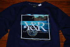 NEW Young and Reckless Y&R Lowrider Crewneck Sweatshirt (X-Large)