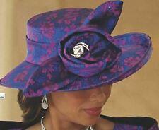 Ashro Formal Dress Dinner Church Event Wedding Party Versailles Hat