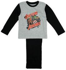 Ensemble pyjama gris pour garçon de 10 ans