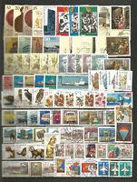 DDR 1982 gestempelt kompletter Jahrgang mit allen Einzelmarken