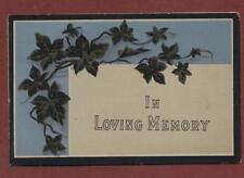 John Dobson. 8th February 1899. Lambeth Cemetery. In Memoriam zd.103