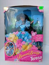 "TERESA ""BLOSSOM BEAUTY"" Barbie Friend/Glitter Fairy #17035, era1996, NRFB"