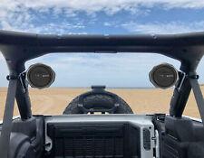 "Memphis 6.5"" Swivel Roll Bar Speaker Pods For 2017-Up Jeep Wrangler JL 4 Door"