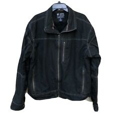 KUHL Mens Burr Vintage Patina Dye Jacket Coat Full Zip Espresso XXL
