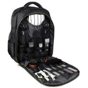 Andis Black BackPack Multifunctional Barber Tool Box Storage Travel Carry Bag