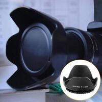 58mm Reversible Petal Flower Lens HoodShield For Canon Nikon Olympus Camera