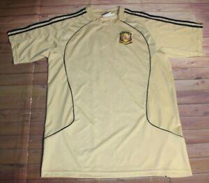 Football Soccer Futbol Spain España National Team Jersey Shirt Large Gold Blue