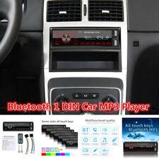 1 DIN Auto Car Stereo Audio In-Dash Aux Input FM USB MP3 Radio Player Bluetooth