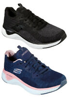 SKECHERS SOLAR FUSE BRISK ESCAPE 13328 NVPK scarpe donna sportive sneakers