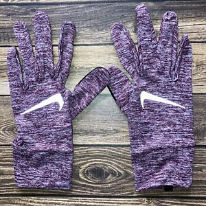 Nike Women's Dry Element Running Gloves 2.0 Dark Beetroot/Silver Touch Screen M