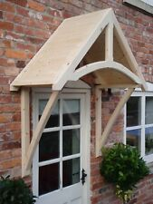 "Timber Front Door Canopy Porch, ""THE COLEMERE"""