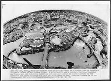 Expo 74 Spokane Washington Original 1974 Photo de Presse Aerial View Pavilions