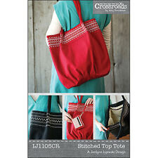 """INDYGO JUNCTION """"STITCHED TOP TOTE"""" Sewing Pattern"""