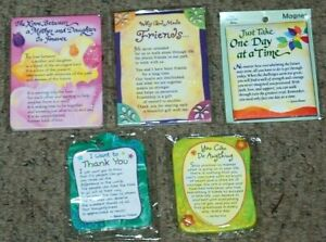 Lot 5 NEW Blue Mountain Arts Daughter Friend Thank You Encouragement Magnets