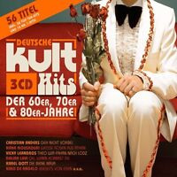 DEUTSCHE KULTHITS DER 60ER,70ER & 80ER BOX-SET 3 CD NEU