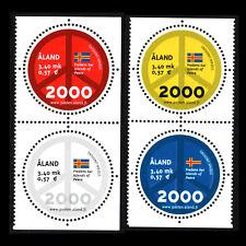 "Aland 2000 - Millennium ""Peace Symbol"" - Sc 161a/d MNH"