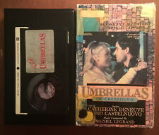 Umbrellas Of Cherbourg (Betamax, 1963) Foreign Film France - HTF VERY RARE OOP