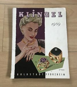 Klingel Moden Katalog Goldstadt 1959 Geburtstag 60