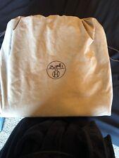 Authentic Hermes Shoulder Bag HerBag Black Canvas 256433 Black