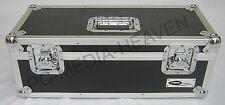 "7"" Singles Vinyl Record Aluminium DJ Flight Storage Carry Case Black 300 Tough"