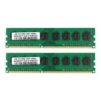 8GB 2x4GB DDR3 1600 MHz PC3-12800U Dimm PC3-1600 RAM Desktop AMD memoria SDRAM