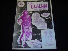 THE LEGEND #1 Rare London DIY/Punk Fanzine Pastels Smiths Violent Femmes...