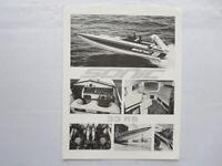 Vintage Sonic 33RS Boat Sales Sheet Brochure Advertising 33 RS