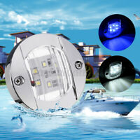 12V LED Marine Boat Yacht Stern Lights Navigation Light Chrome Stainless Steel