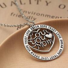 Goody Family Necklace Love You Mom Words DREAM LOVE HOPE TRUST Mother's Day Gift