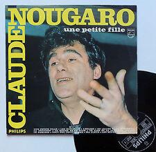 """Vinyle 33T Claude Nougaro  """"Une petite fille"""""""