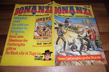 BONANZA # 38 -- HOSS` GROßE STUNDE // mit Bonanza-Poster in 1. Auflage 1975