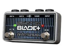 EHX Electro Harmonix Switchblade Plus Channel Sélecteur Pédale de guitare