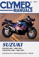 buy suzuki katana motorcycle manuals and literature ebay rh ebay co uk Suzuki FXR150 Suzuki GSX1300R