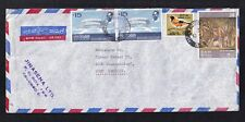 SRI LANKA Cover to Germany, Air Mail, Aerogramme, Birds
